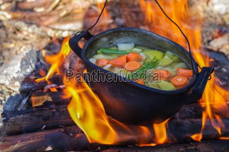 hitze kueche kochen kocht kochend brand