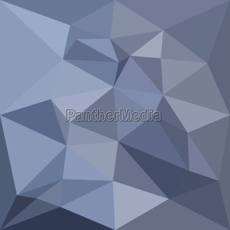 black coral blue abstract low polygon