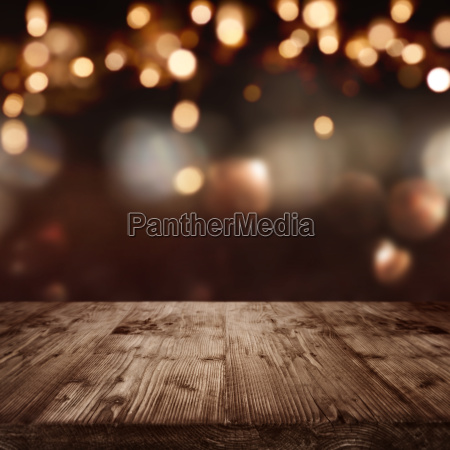 background with christmas lights