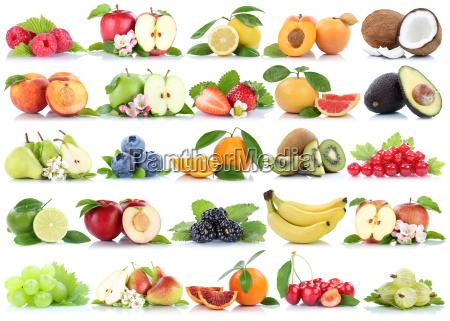 fruechte frucht obst collage apfel orange