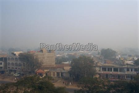 smog im winter wetter agra uttar