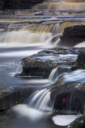 lower aysgarth falls near hawes wensleydale