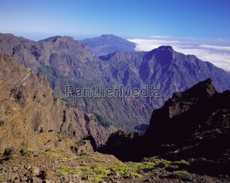 view over parque nacional de la