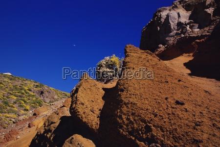 barren moonscape landscape near roque de