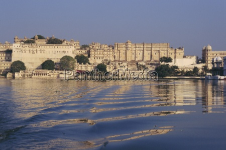 view of the city palace from