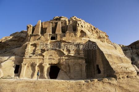 the obelisk tomb petra unesco world