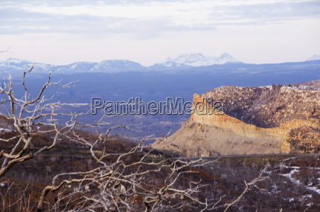 montezuma valley outlook the park contains
