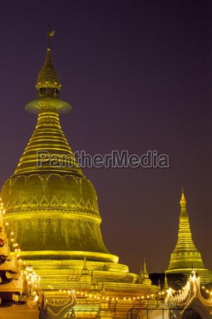 turm religioes tempel glaeubig nacht nachtzeit