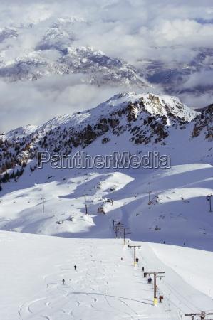 pulverskiim whistler mountain resort austragungsort der