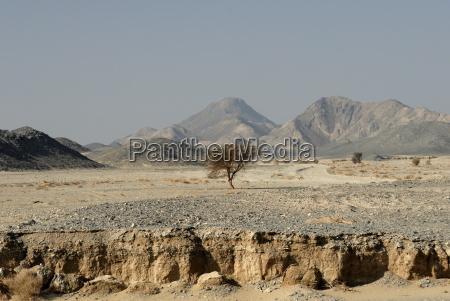 erosion nubische wueste sudan afrika