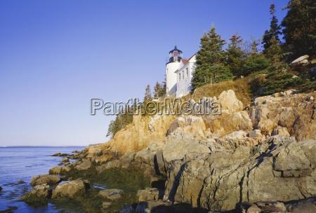 bass harbour lighthouse acadia national park