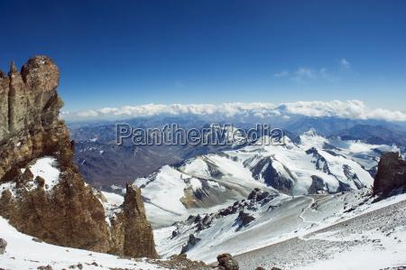berge horizontal argentinien gefroren eingefroren outdoor