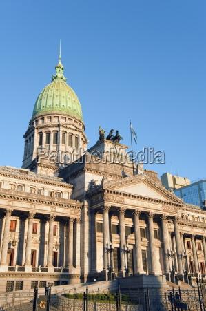 palacio del congreso national congress gebaeude