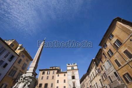fontana dei fiumi piazza navona rome