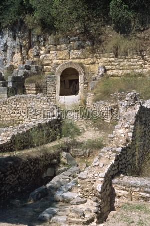 archaeological site butrinti unesco world heritage