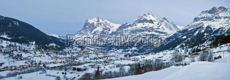 grindelwald wetterhorn mountain 3692m jungfrau region