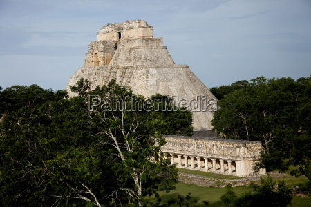 the pyramid of the magician uxmal