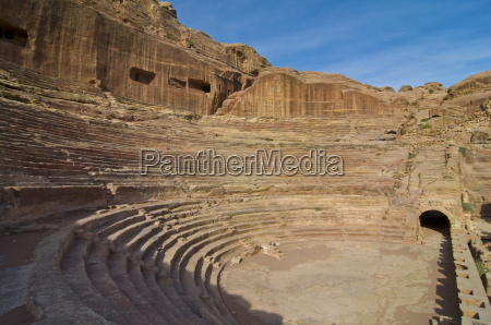 the amphitheater petra unesco world heritage