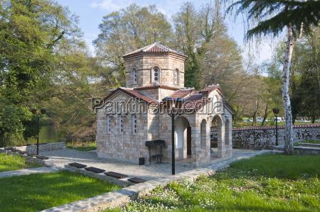 monastery of st naum at lake