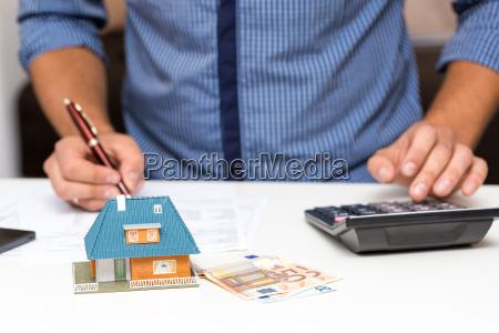 property management konzept berechnung hauskosten