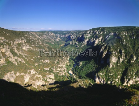 tal in lozere languedoc roussillon frankreich
