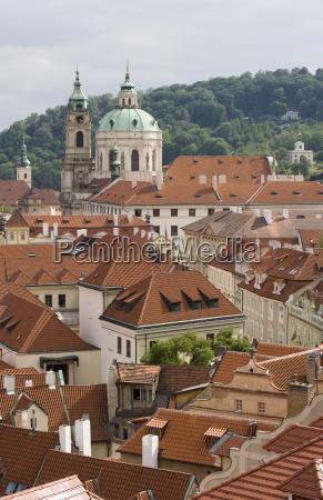 religion kirche kuppel barock europa prag