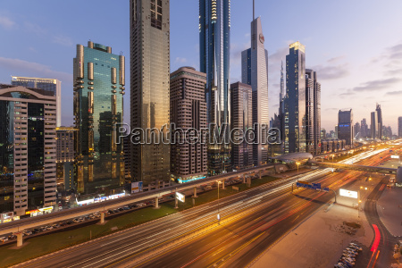 sheikh zayed road traffic and new