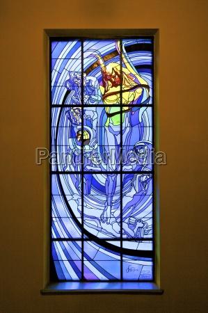 blau fenster luke glasfenster fensterscheibe europa