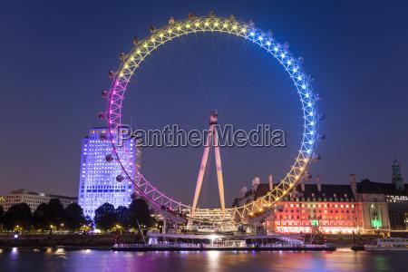 london eye london england united kingdom