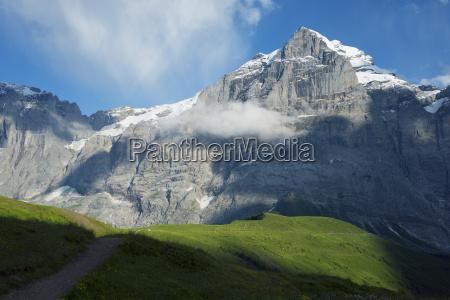 wetterhorn 3692m jungfrau aletsch unesco world