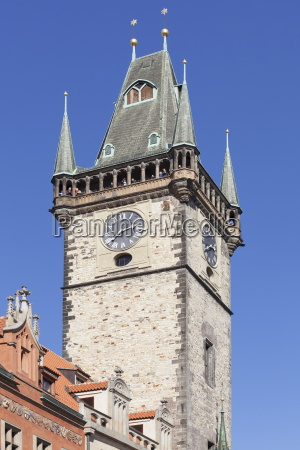 tower of the old town hall