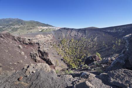 san antonio volcano monumento natural de