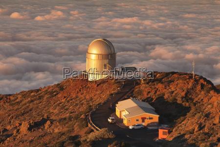 observatory on roque de los muchachos