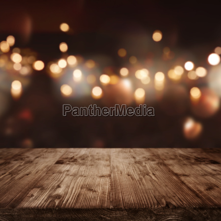 christmas background with light spots
