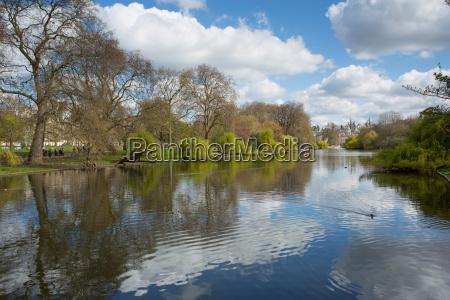 st jamess park whitehall westminster london