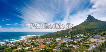 cape town panoramic landscape
