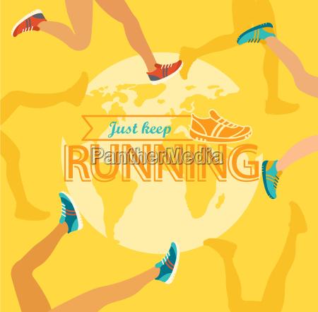 summer running marathon