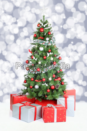 christmas tree christmas banner decoration snow