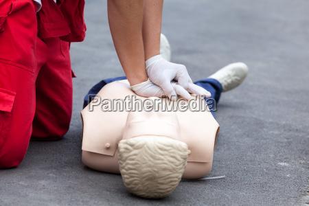 cpr kardiopulmonale reanimation