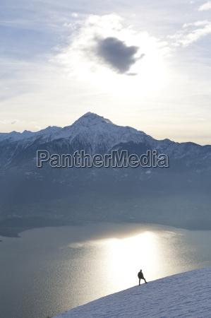 fahrt reisen freizeit farbe sonnenuntergang alpen