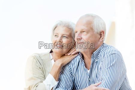 felice coppia senior