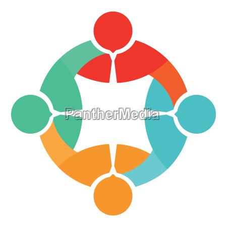 vereinigungs icon symbol
