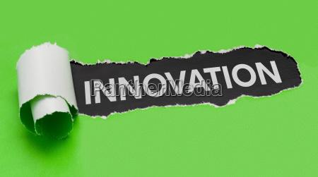 zerrissenes papier innovation