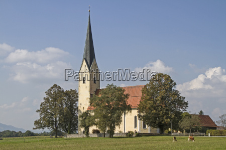 wallfahrtskirche st leonhard in nussdorf am