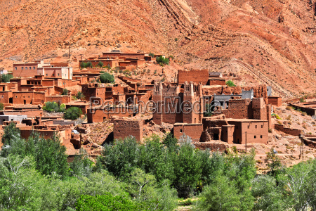 old berber architecture near the city