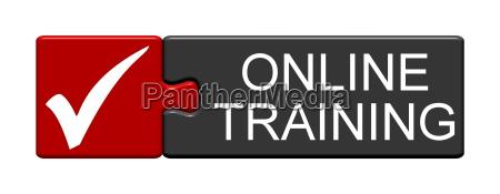 puzzle button online training