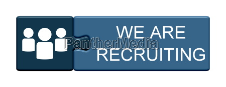 puzzle button we are recruiting