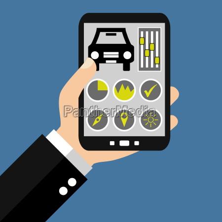 auto steuern mit dem smartphone