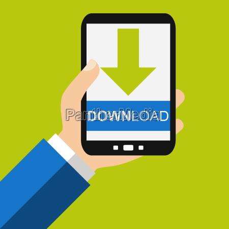 download mit dem smartphone