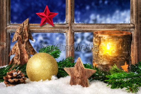 decoration for christmas or advent at